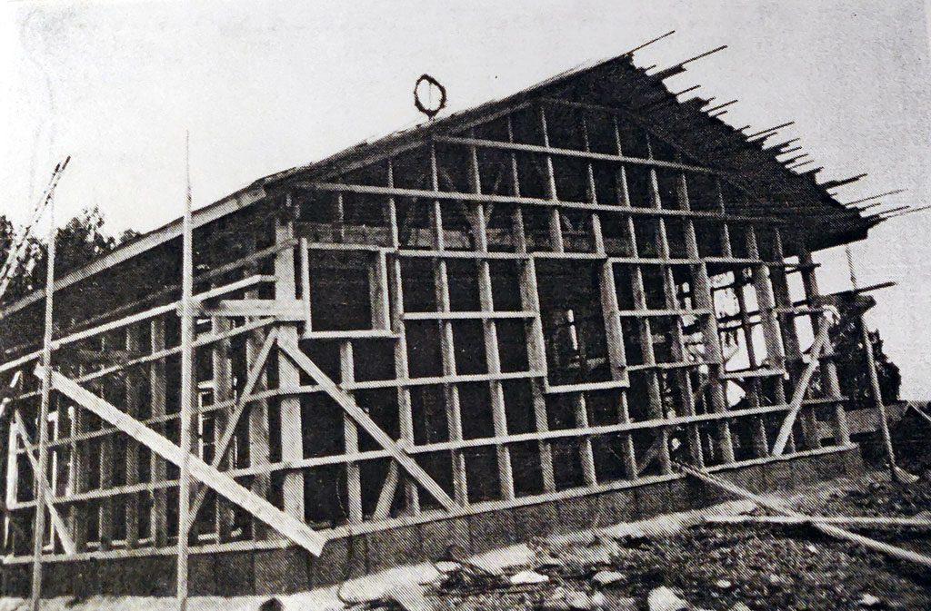 Tillbyggnad av Sätra bystuga